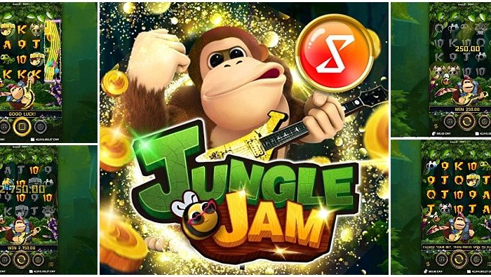 Jungle Jam – Slot Free Spins no Deposit 2020 – 1xSlots