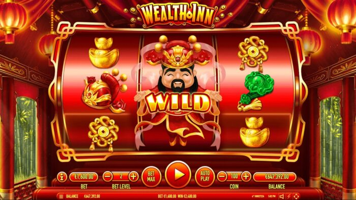 Wealth Inn – Slot Free Spins no Deposit 2020 – 1xSlots